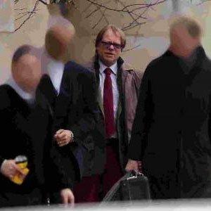 Burridge outside Bournemouth Crown Court